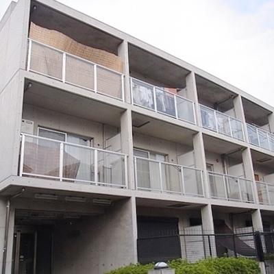 2階からコンクリート