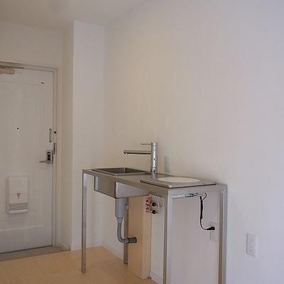キッチンはものすごくシンプル