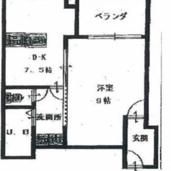 各部屋広さあります。