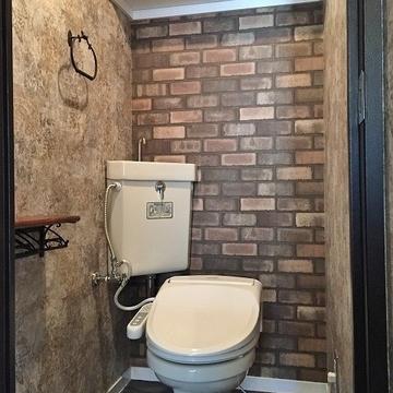 トイレも古さを忘れさせてくれる拘り具合