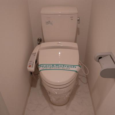 トイレも設備整ってます※写真は別部屋です。