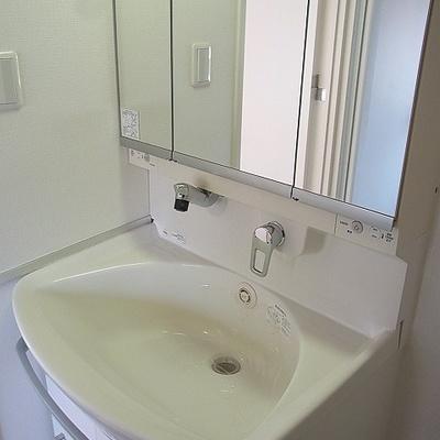 独立洗面台もグレードの高いものを使っています。