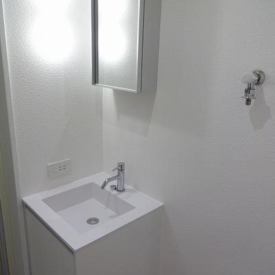 洗面台もかわいい