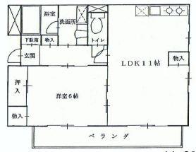 こんな部屋が暮らしやすいんだろうな の間取り