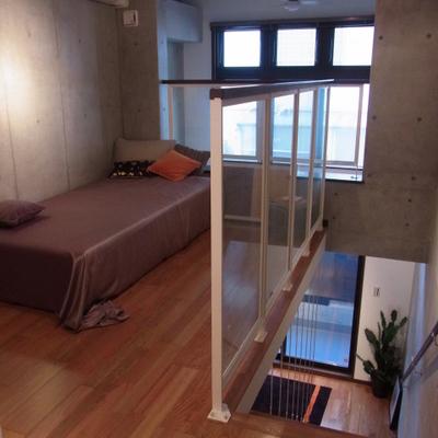二階。※写真は別室です
