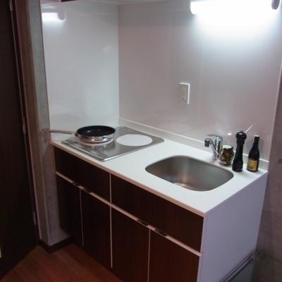 IHシステムキッチン※写真は別室です