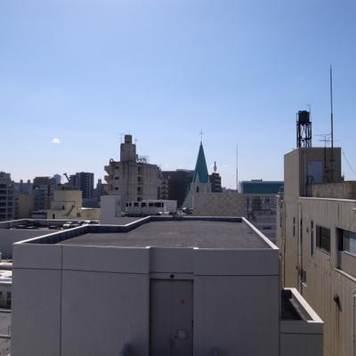 10階なので眺望もまずまず。