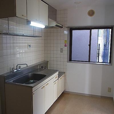 調理場としての広さは十分 ※写真は3階の同間取り別部屋のものです