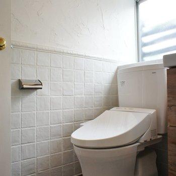 トイレは同室に