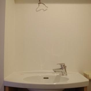 個性的な洗面台!※写真は前回募集時のものです
