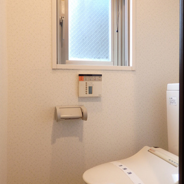 トイレに窓。