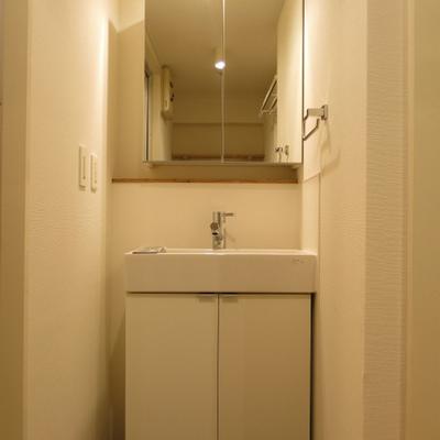 独立洗面台を新設!