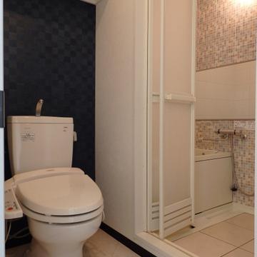 トイレ、お風呂はこの位置関係。