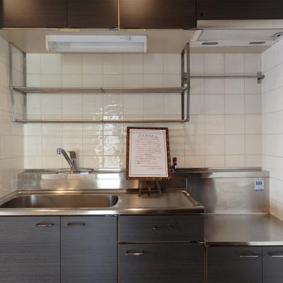 キッチンは持ち込み式になります