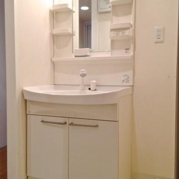 洗面台は広めが嬉しいですよね。