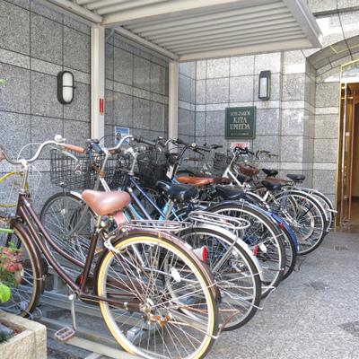 自転車置場あり