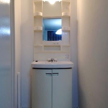 きれいな洗面台です。