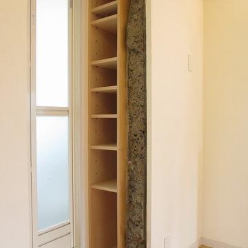 このちょっとした棚がかわいいんです。※写真は前回募集時のものです