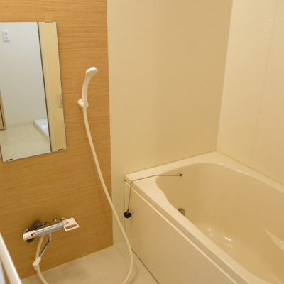 お風呂きれい!毎晩浸かりたい。