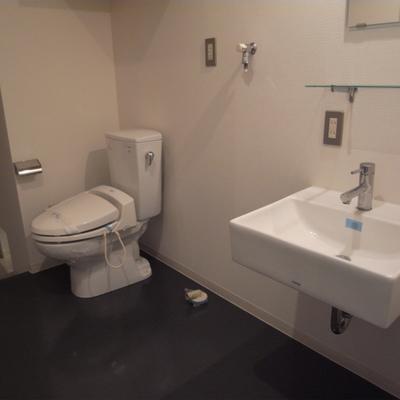 洗面台&トイレ&洗濯機置き場