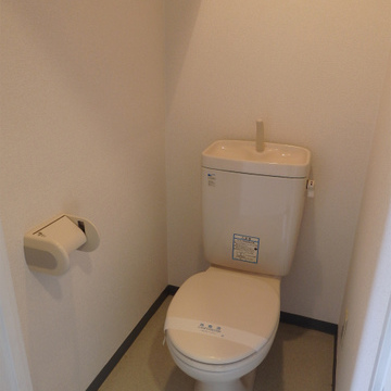 トイレもシンプル