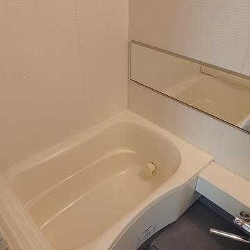 お風呂もゆったりできます。(写真は別室です)