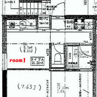 段差は無く、三部屋の構造。