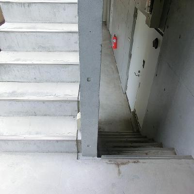 階段利用になります。