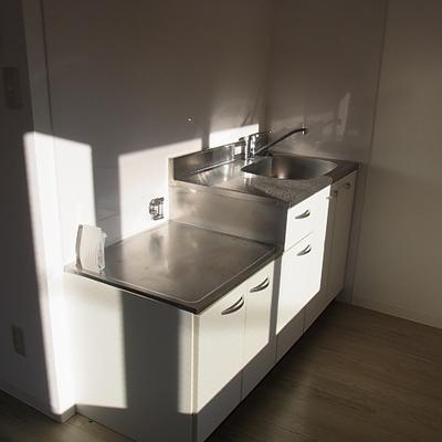 キッチンもきれい