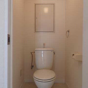 トイレはそのまま
