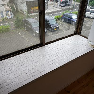 広いタイルの出窓も◎※写真は前回募集時のもの