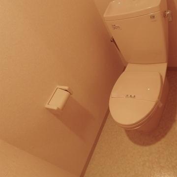 トイレもキレイになっています。