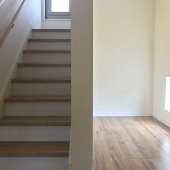 階段の折り返し部分には5.1帖のロフト部分!どう使おうかな?
