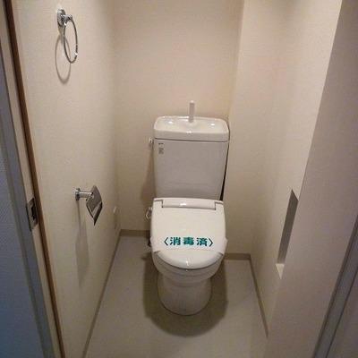 トイレはウォムレット式