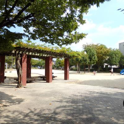 すぐ近くの公園。リフレッシュしに行きたいですね。