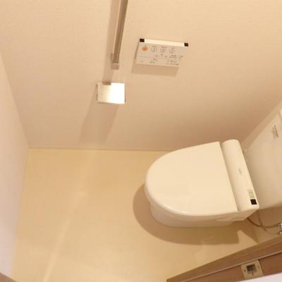 ほぼ新品のトイレ。