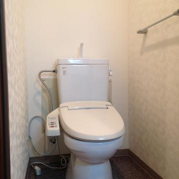 トイレは非常にキレイでした。