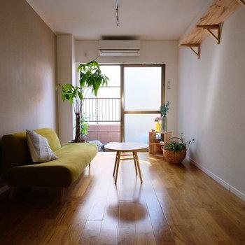 無垢床と家具の相性が◎