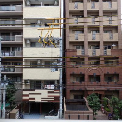 3階からの眺望。