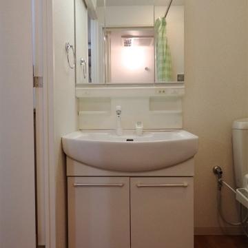 標準的な洗面台。