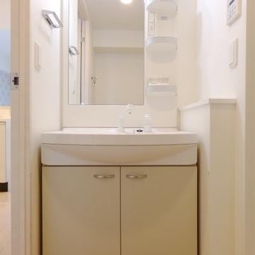 使いやすそうな洗面台。