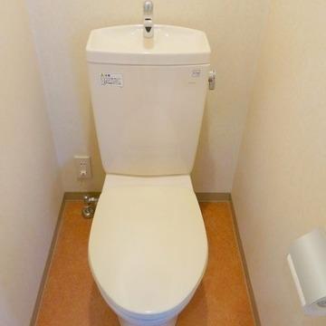トイレも綺麗に保たれています