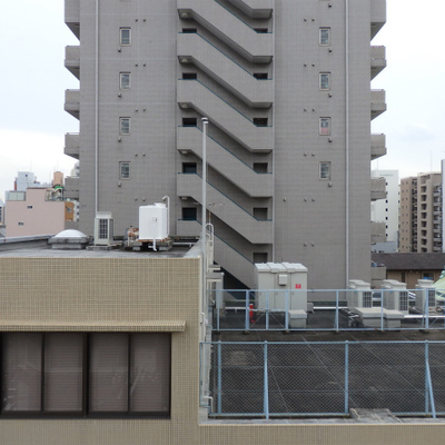 6階からの眺望。