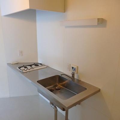 【リビング】キッチン、シンプルイズベスト。※写真は前回募集時のものです