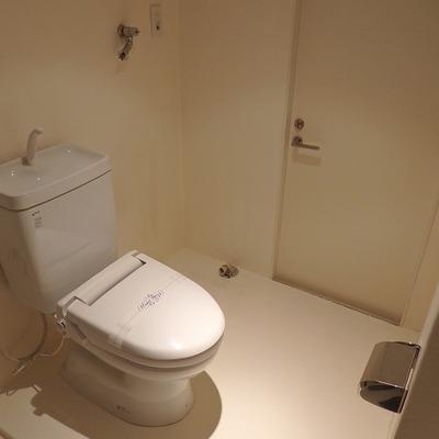 このトイレが広いんだ~。※写真は前回募集時のものです