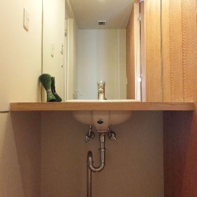 デザイン重視の洗面台