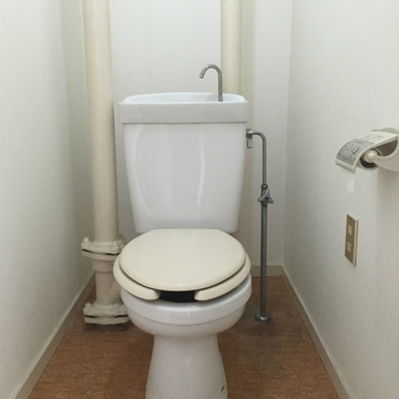 トイレは普通です。