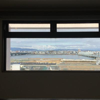 どやっ!9階、最上階のお部屋からの眺め!