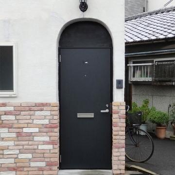 可愛い〜丸玄関ドア
