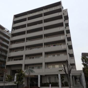 9階建てのしっかりしたマンションです。